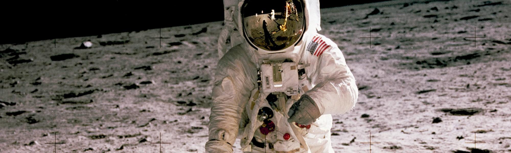Apollo Moon Landing Image: NASA
