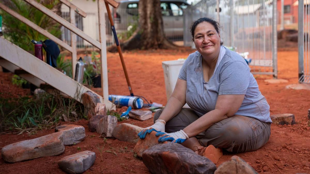 Azure Hermes: Meet the woman helping heal Australia