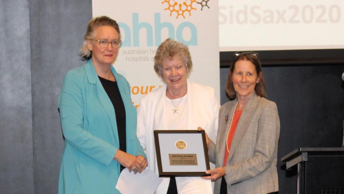Sidney Sax Award recipients