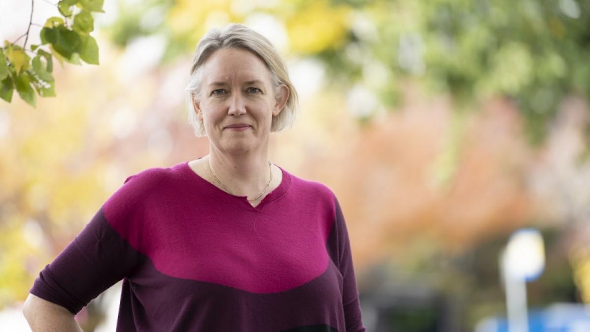 Dr Arnagretta Hunter photographed outside