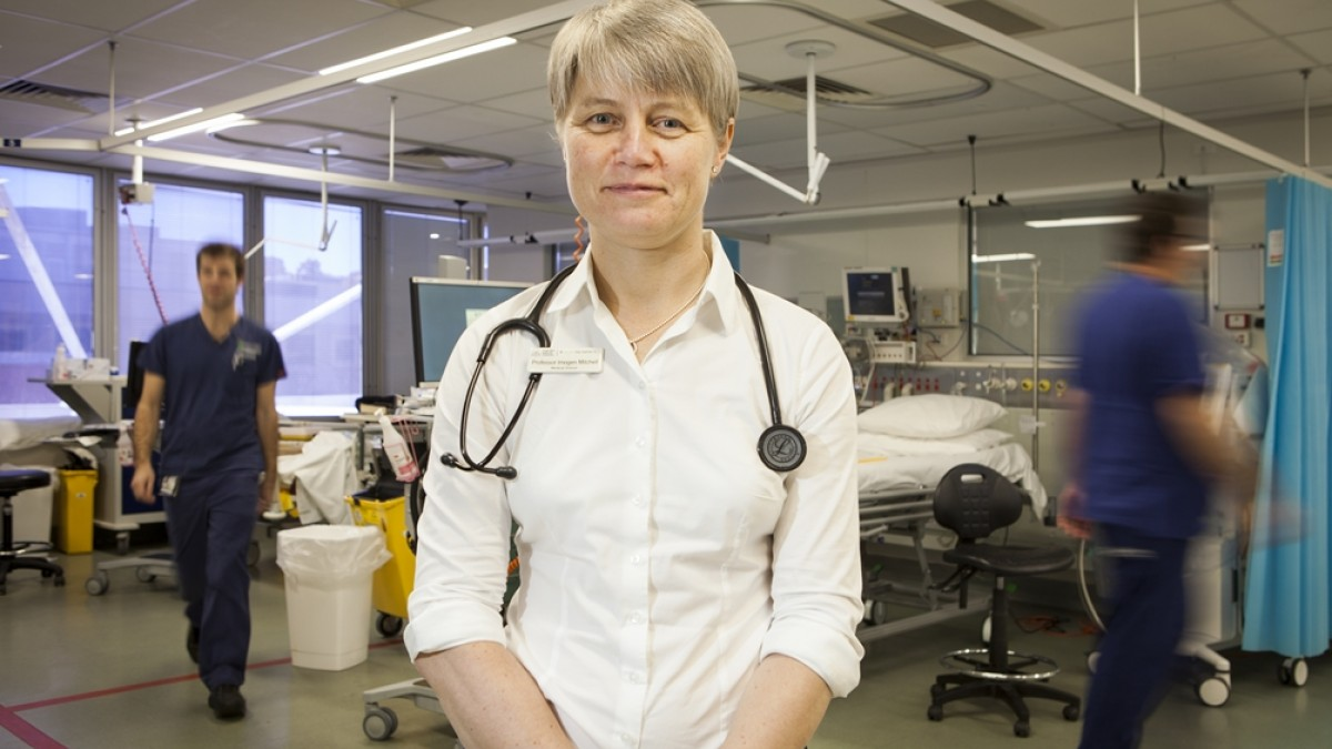 Professor Imogen Mitchell is an Intensive Care Specialist at the Canberra Hospital and Dean of the ANU Medical School.