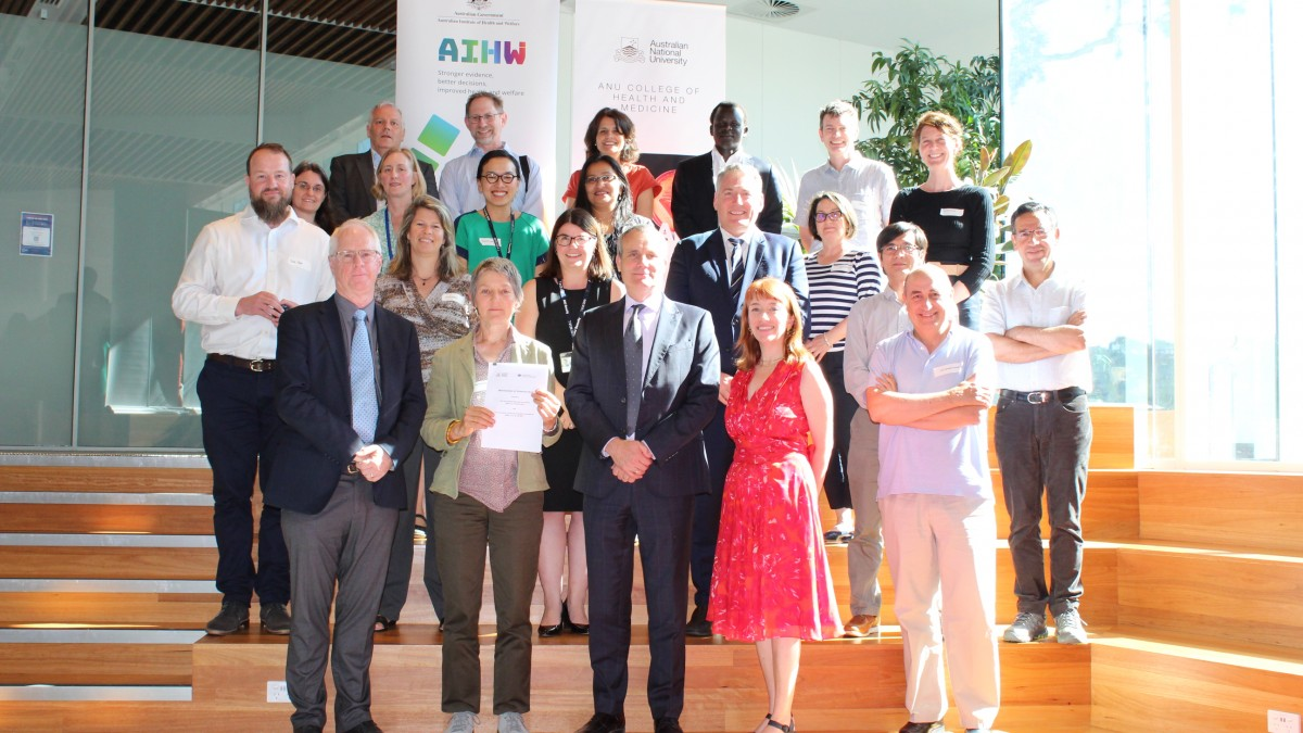 Group photo - MoU signing