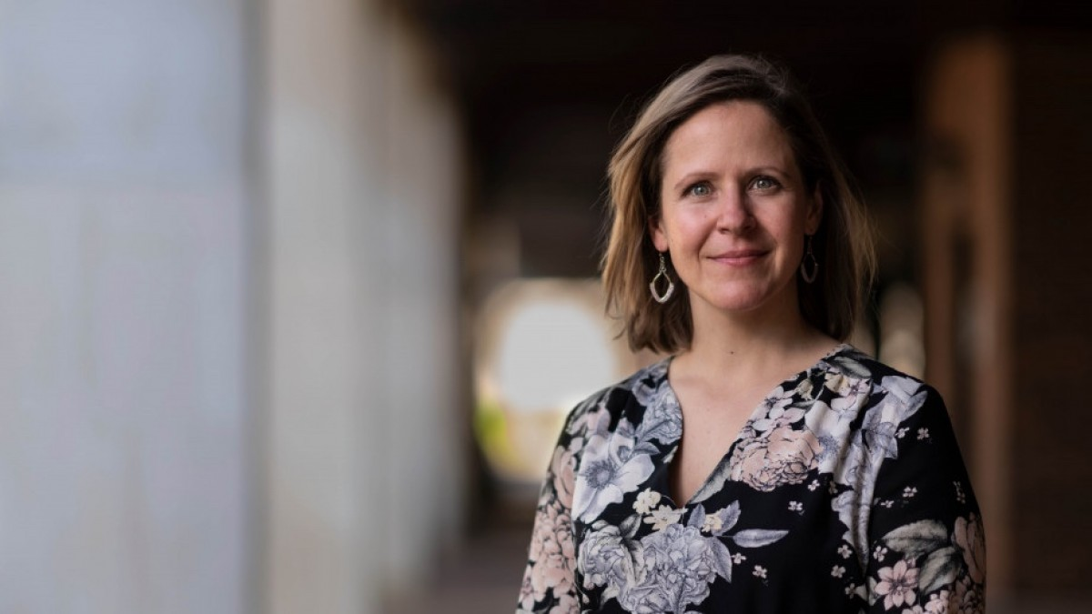 Dr Amy Dawel is a cognitive and clinical psychologist at the Research School of Psychology at ANU. Image: Jamie Kidston