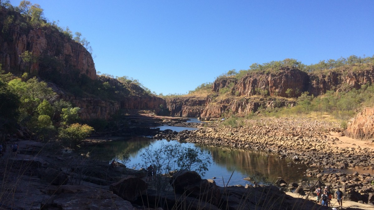 A river in the Kimberley contaminated by PFAS