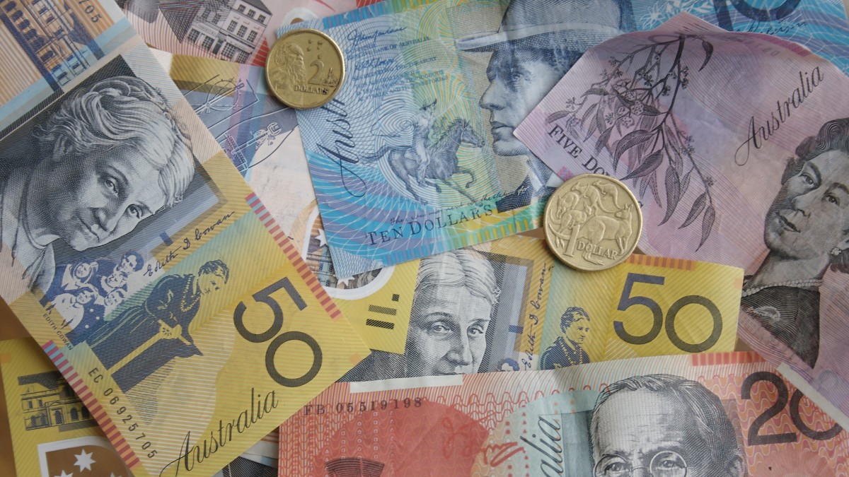 Australian cash and coins