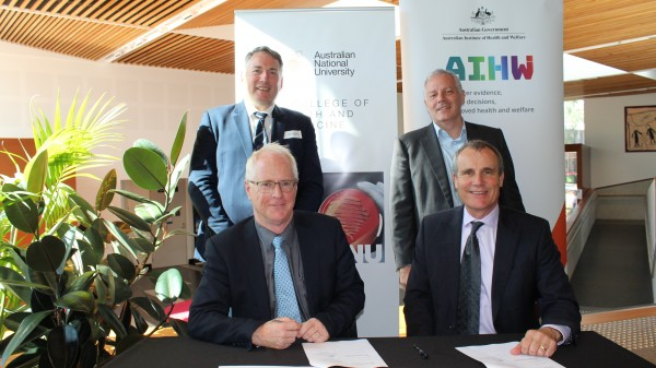 AIHW and ANU MoU signing